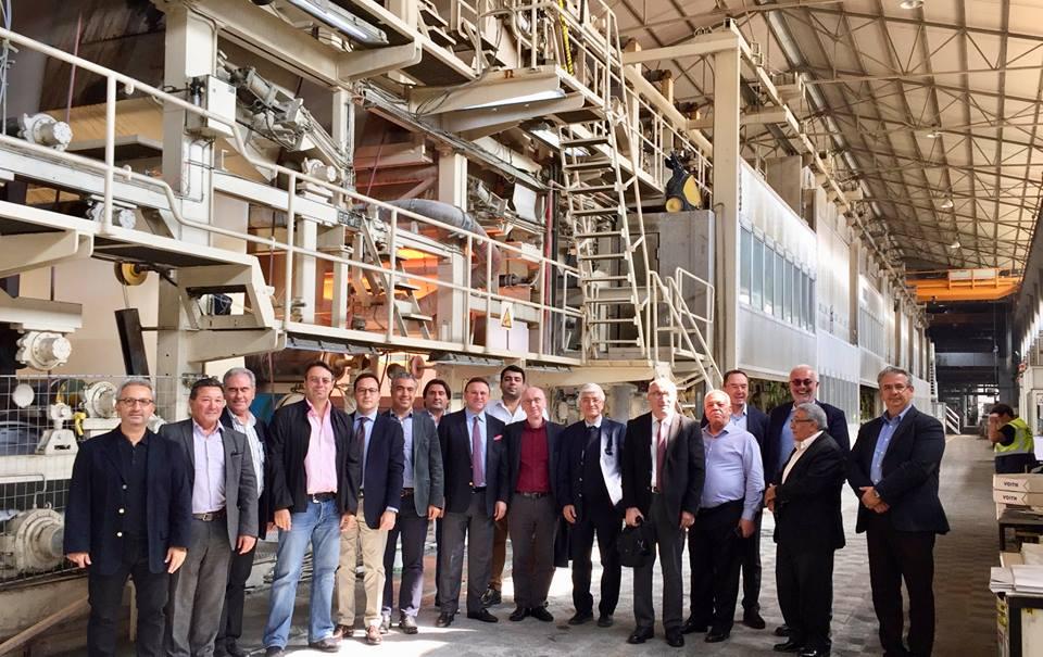 KASAD Yönetim Kurulu MEL Karton - Selanik ziyaretinde - 16 Ekim 2018