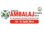 Avrasya Ambalaj İstanbul 2014 Fuarı başarıyla  gerçekleşti | 22/09/2014