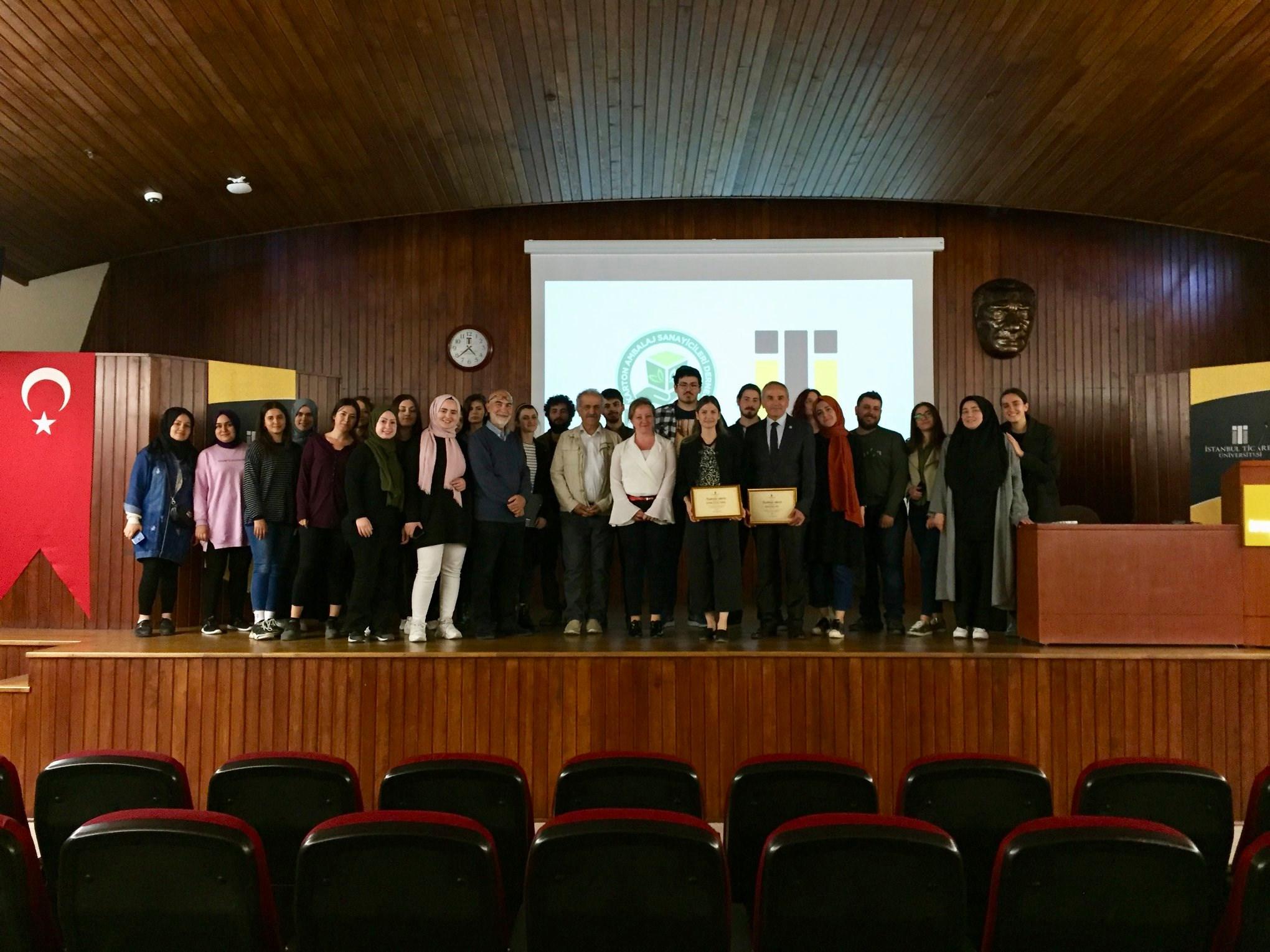 İstanbul Ticaret Üniversitesi'nde KASAD Semineri 08.05.2019