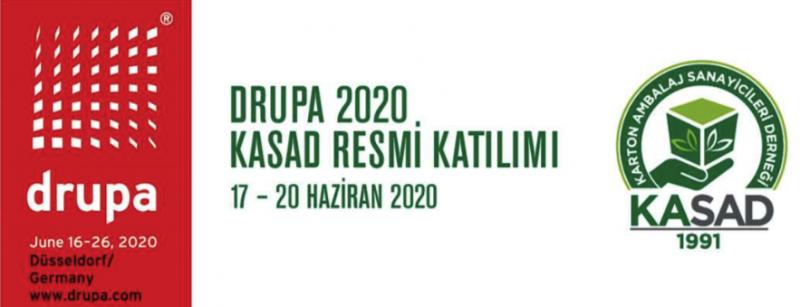 Drupa 2020 KASAD Organizasyonu | 17/06/2020 - 20/06/2020