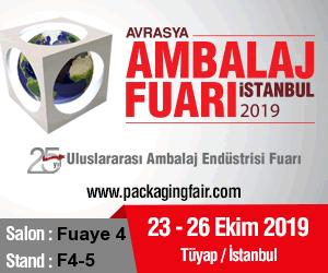 Avrasya Ambalaj İstanbul Fuarı 2019 | 23-26 Ekim