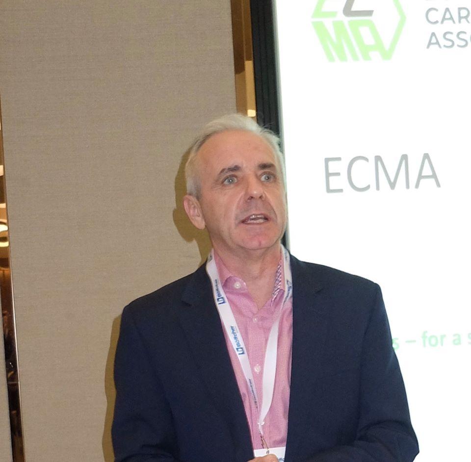 ECMA Genel Müdürü Mike Turner'ın KASAD Ziyareti I 22/01/2020