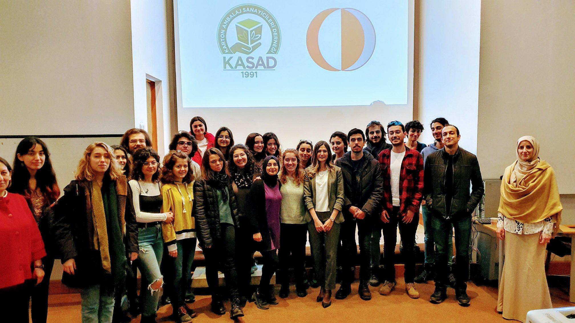 Orta Doğu Teknik Üniversitesi'nde KASAD Semineri I 21/02/2020