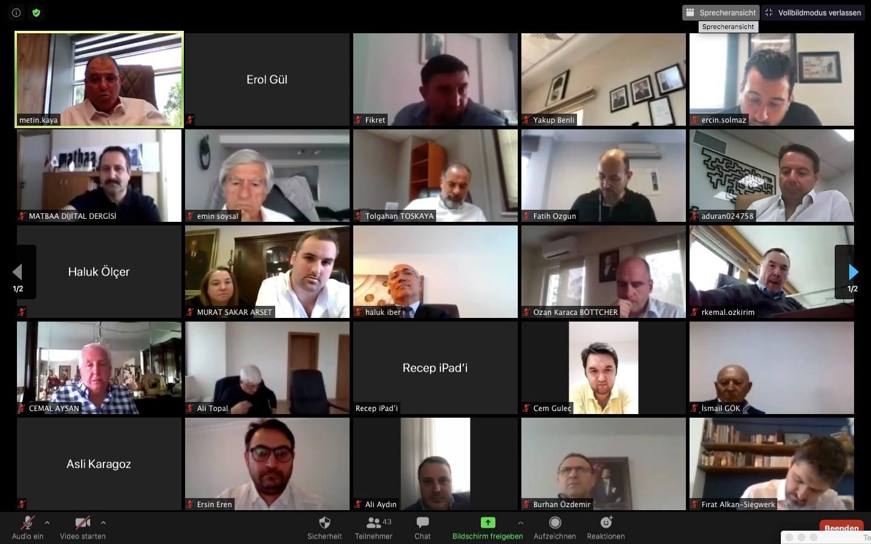 KASAD Haziran Ayı Online Üye Toplantısı I 03/06/2020