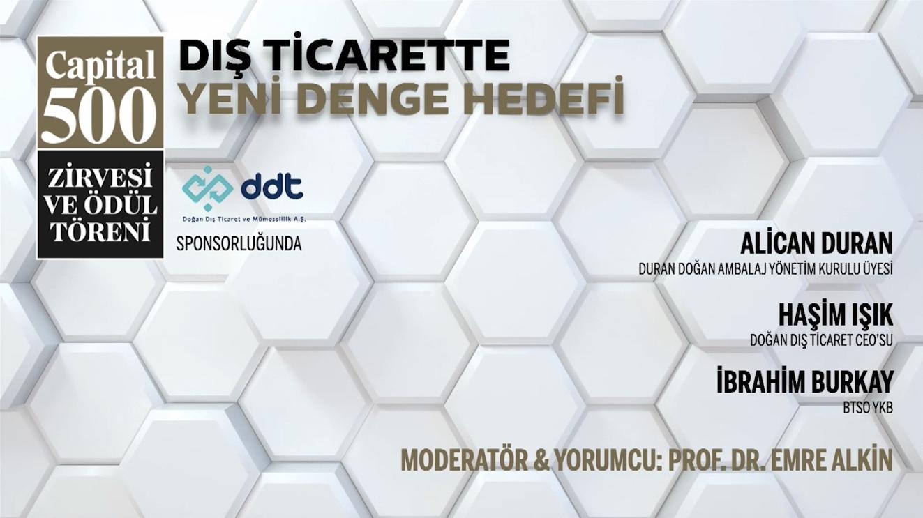 KASAD Başkanı Alican Duran ve KASAD Üyesi Haşim Işık Capital500 Konuşmaları I 14/01/2021