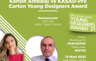 Karton Ambalaj ve KASAD-Pro Carton Young Designers Award Hazırlık Semineri | 15 Mart 2021 - 13:00 - 14:00